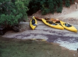 Kayaks near Arizona Hot Springs