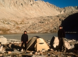 Camp at Guitar Lake