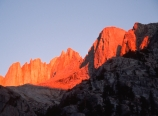 Sunrise and alpenglow