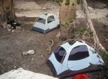 Peeler Lake camp