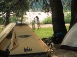 Camp at Benson Lake