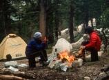 Campsite at Upper Piute Creek