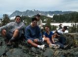 At Thousand Island Lake