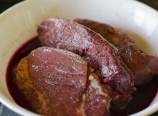 Pomegranate cabernet marinade