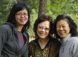 Caroline, Mom, and Danna