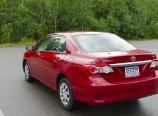 My red rental car