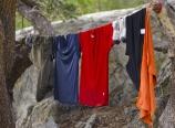 Hangling laundry