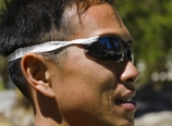 Medical tape sunglasses strap