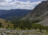 North Fork Bishop Creek drainage basin