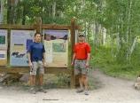 North Lake trailhead