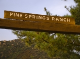 Pine Springs Ranch entrance