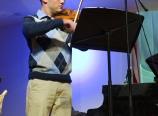 Karl on the violin