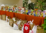 Collected food for ThankSharing