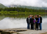 At Vermilion Lakes