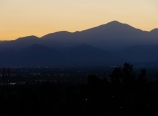 View of San Bernardino Peak from Loma Linda