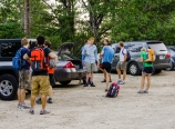 Arriving at the trailhead