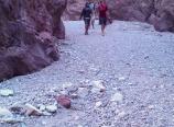 Whiterock Canyon trail