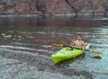 Pulling into Arizona Hot Springs