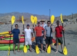 Group picture at Willow Beach