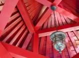 Gazebo roof rafter detail