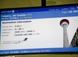 Gate 70 to Calgary