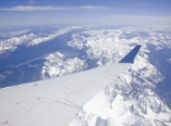 Over the Canadian Rockies