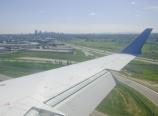 Landing in Calgary