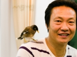 Yongzhao and bird