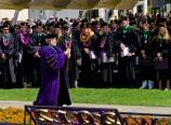 Ron Carter and the graduates