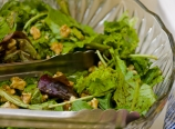 Field greens with balsamic vinaigrette