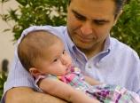 Ramiz and Baby Hannah