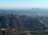 Griffith Observatory and the city
