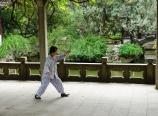 Taiji in Huashan Garden