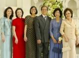 The Tan family siblings
