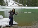 Alice at Mirror Lake