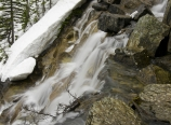 Lake Agnes drainage