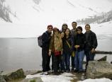 At Lake Agnes