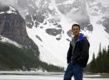 At Moraine Lake