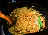 Making Pad Thai