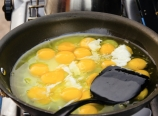 Scrambling eggs