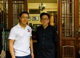 With Xu Junyue at the Guqin Association