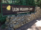 Leoni Meadows sign