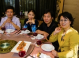 Lunch with Feng JinE and family
