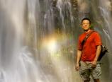 Danny at Double Falls