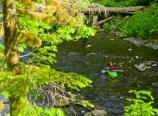Kayakers in Eagle Creek