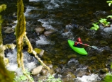 Kayakers in Eagle Creek