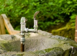 Drinking fountain at trailhead