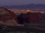 View of Las Vegas from High Point Overlook