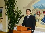Shane as Neufeld Society President
