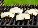 Swiss cheese, mushroom, and onions